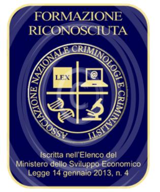 Formazione Riconosciuta Ancrim Associazione Nazionale Criminologi E Criminalisti